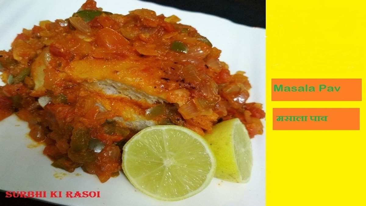 Masala Pav || Mumbai Street Food || Masala Pav Sandwich - Recipe No. 51