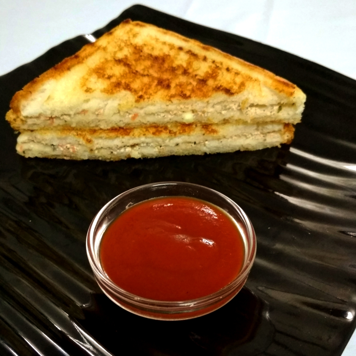 Yogurt Sandwich | Curd Sandwich | Recipe No. 89