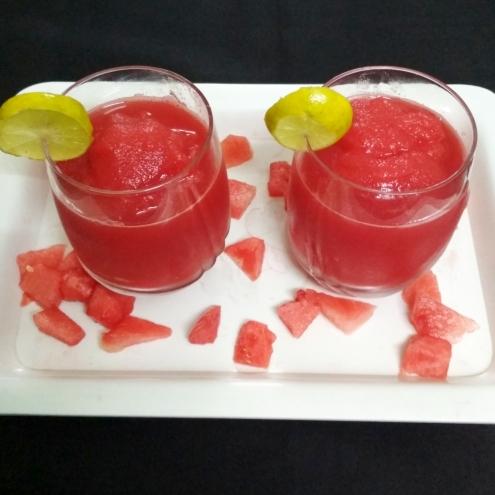 Cool Watermelon Slushes